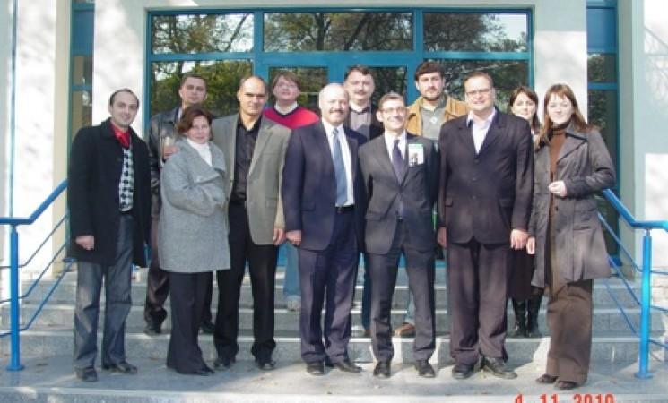 Luca Volonte într-o scurtă vizită la Chişinău