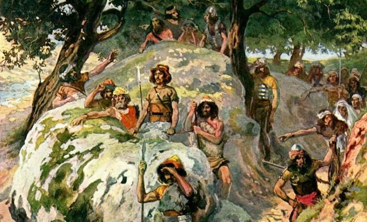David în ţara filistenilor - consecinţele unei decizii greşite