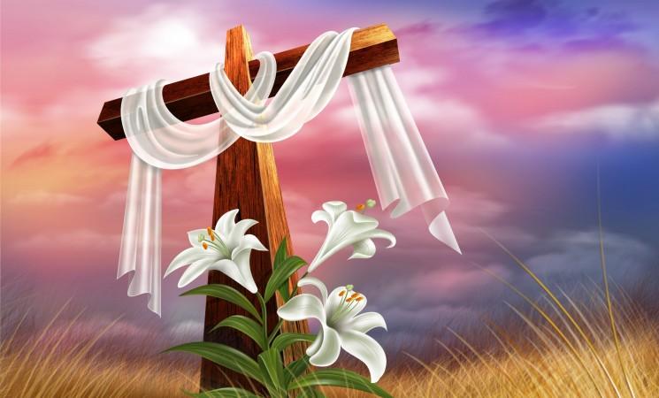 Пусть свет воскресения принесет вам надежду, Христос воскрес!