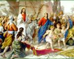 Floriile - Intrarea Domnului Isus în Ierusalim