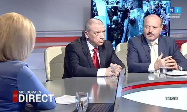 """Despre 7 aprilie 2009 la """"Moldova în Direct"""""""