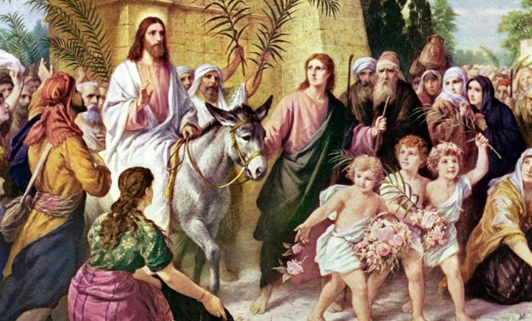 ISUS - Împăratul Slavei!