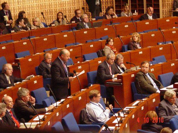 Referendumul Constituţional – Adunarea Parlamentară a Consiliului Europei
