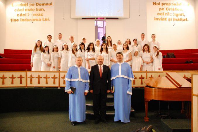 """Botez în Biserica """"Isus Salvatorul"""""""