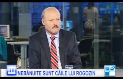 Valeriu Ghileţchi, la Publika TV, într-o dezbatere despre vizita lui Rogozin