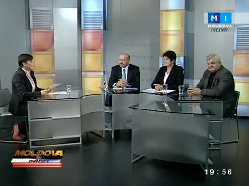 """Despre emigranţii moldoveni din Rusia, la """"Moldova în direct"""""""
