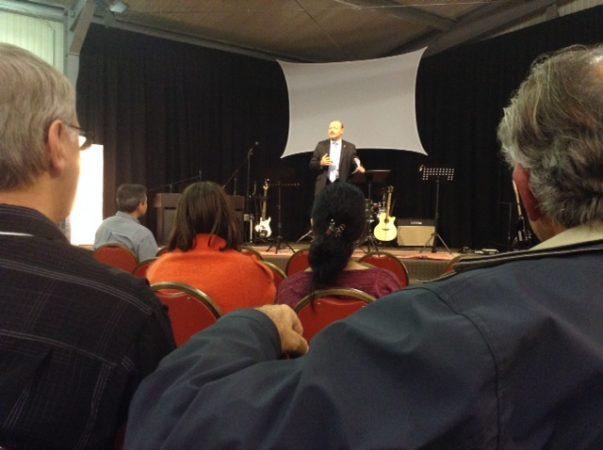 La întâlnirea anuală a Convenției Internaționale Baptiste
