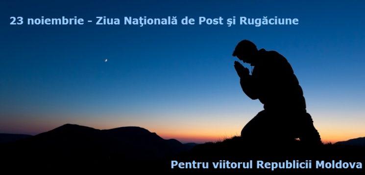 Apel la post şi rugăciune pentru Alegerile Parlamentare 2014
