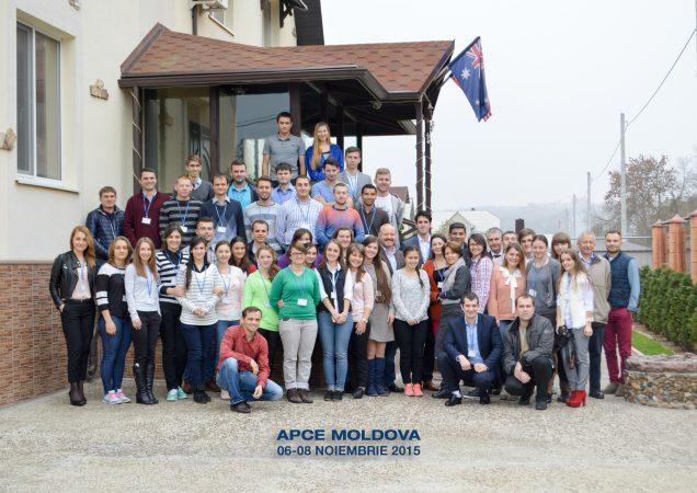50 de tineri la lansarea Academiei Politice a Creştinilor Evanghelici din Republica Moldova