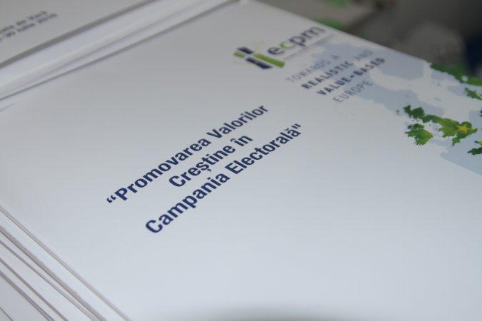 """Școala de Vară 2016: """"Promovarea Valorilor Creştine în Campania Electorală"""""""