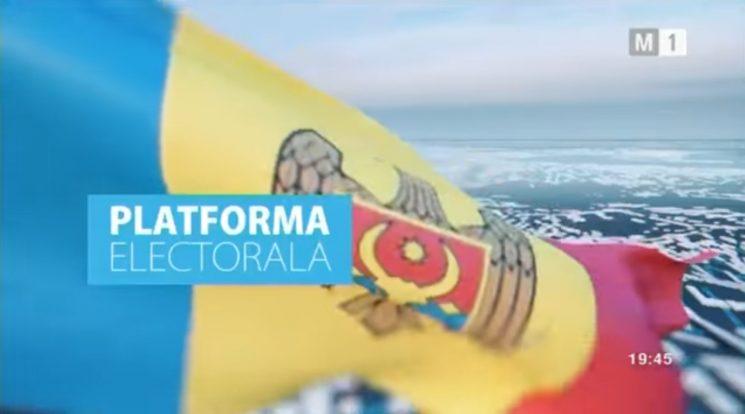 PLATFORMA ELECTORALĂ a candidatului Valeriu Ghileţchi la Moldova 1