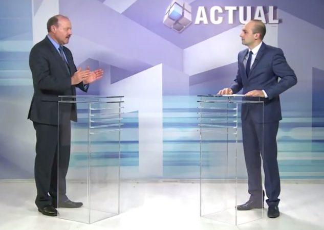 """Despre sancțiunile pentru cultele religioase, care se implică în politică, în emisiunea """"ACTUAL"""""""