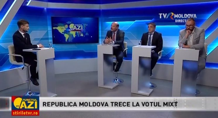 "Despre sistemul electoral mixt votat de Parlament, la ""Punctul pe Azi"""