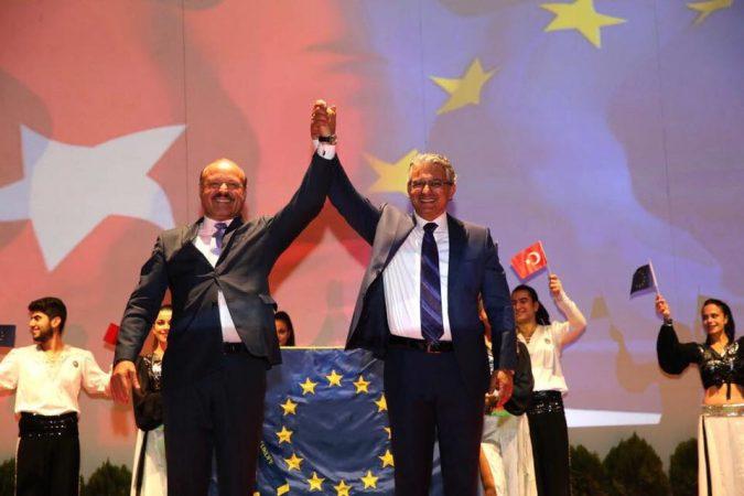 """VIZITA pentru înmânarea """"Flagului de Onoare"""" oraşului Karsiyaka din Turcia VIDEO"""