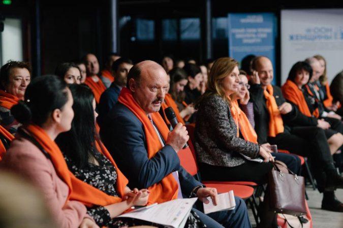 """Susţin campania """"Uniţi pentru eliminarea violenţei faţă de femei"""""""