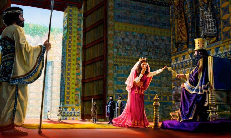 Credința și curajul Esterei