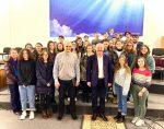 """""""Tinerii creștini în politică"""" - o discuție sinceră cu tinerii Bisericii """"Buna Vestire"""" din Chișinău"""