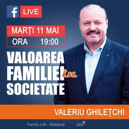 """INTERVIU """"Valoarea familiei în societate"""" (VIDEO)"""