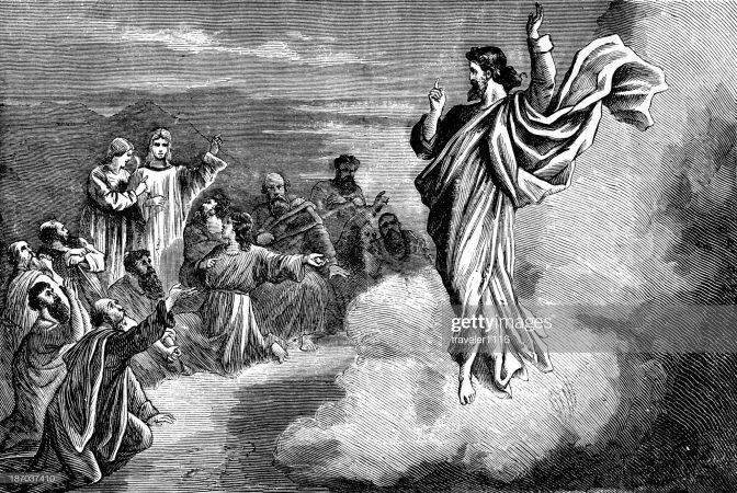 Înalțarea lui Isus -  întristare și încurajare